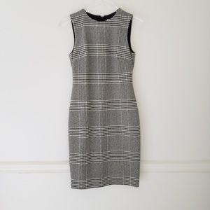[Calvin Klein] Houndstooth Dress 2